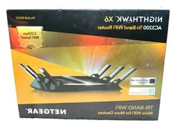 Netgear Nighthawk X6 AC3200 Tri-Band WiFi Router R8000