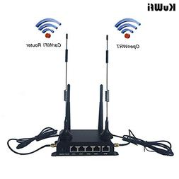 KuWFi OpenWRT Industrial CarWiFi Router with SIM Card Slot 3