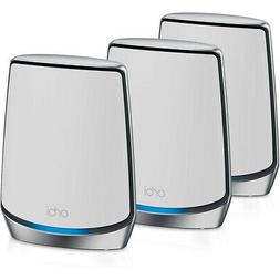 NETGEAR Orbi WiFi 6 Speeds Up To 6GBPS 3-Pack Includes Route