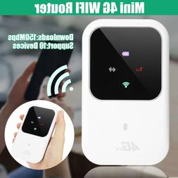 Mini Portable Hotspot 4G Lte Wireless Router 150Mbps 2.4G Mo