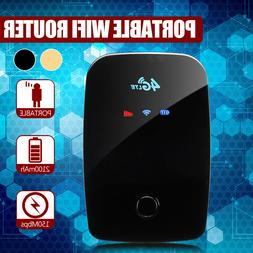 Portable 4G LTE Wifi Wireless Router Mobile Hotspot Modem Si