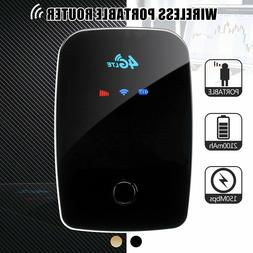 Portable 4G WIFI Router SIM Card 150Mbps LTE Mobile Broadban