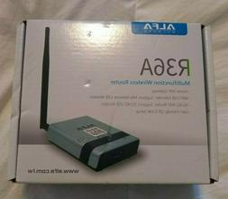 ALFA R36A Wireless Wi-Fi USB Router + Alfa AWUS036NH Long Ra