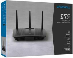 Linksys R72 EA7200 MAX-STREAM AC1750 Wi-Fi 5 Router