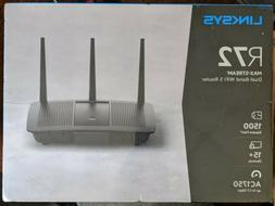 Linksys R72 EA7200 MAX-STREAM AC1750 Wi-Fi 5 Router - New!!!