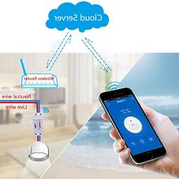 Fabal Remote Control Wifi Switch Smart Home Intelligent Wire