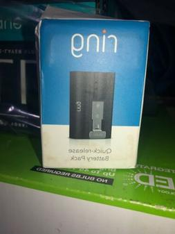 ring rechargeable battery pack quick release
