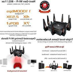 Asus Rog Rapture Gt Ax11000 Ax11000 Tri Band 10 Gigabit Wifi
