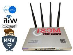 RouteBox WiFi 2.4g 5g router OpenWRT --Free Shipping to USA-