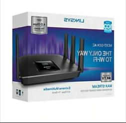 Linksys Router Max Stream Wifi AC4000 MU MIMO Tri Band Smart