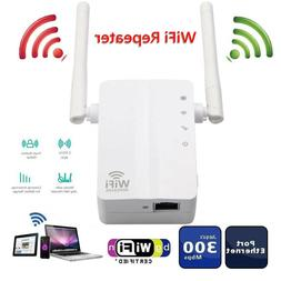 Router Dual Antenna Wireless Range Extender WiFi Repeater Fo