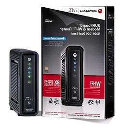 Motorola Sbg6580 Cable Modem with Wifi and Router