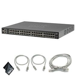 Cisco SG200-50P 50-Port 10/100/1000 Gigabit PoE Smart Switch