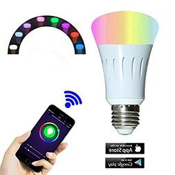 Smart Bulb for,Smart LED Night Light Bulbs,16 Million Multi-