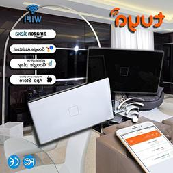 Smart WiFi Switch Light Wall Touch Remote Control Programmab