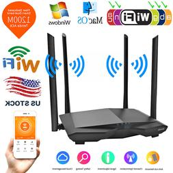 Tenda AC6 1200Mbps Wireless WiFi Router Dual Band APP Remote
