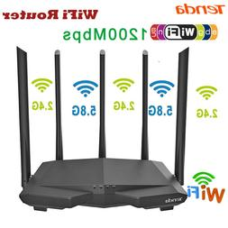 Tenda AC7 1200Mbps Wireless WiFi Router 2.4G/5G Dual Band AP