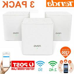 Tenda Nova MW3 3pcs 1200M Dual Band 2.4/5G Wireless WiFi Rou