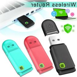 USB Wifi Dongle Modem Mini Wireless Router 300Mbps Mobile Wi