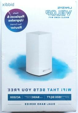Linksys Velop Dual Band AC1200 Mesh WiFi System 1 Pack Route