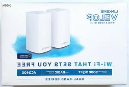 Linksys Velop Dual Band AC2400 Intelligent Mesh WiFi Router