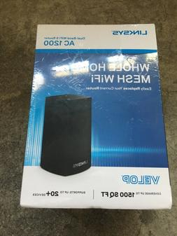 Linksys Velop Whole Home Mesh Dual-Band WiFi Router AC1200 A