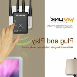 Wavlink AC1200 Dual Band Wifi Repeater&Router,2.4&5G Wireles
