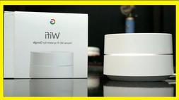 Google Wifi Dual-Band Mesh Wi-Fi Router - 1 PACK - White - N