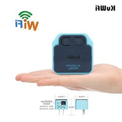 300Mbps WIFI Extender ,KuWFi MINI Wireless Repeater 2.4Ghz A