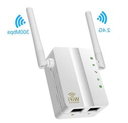 Wifi Repeater,MSDADA 300Mbps Fast Speed WiFi Extender,2.4GHz