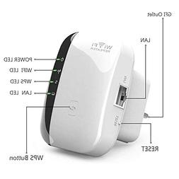 WiFi Repeater AP Range 300Mbps Wireless N Router Extender Si