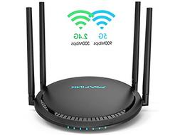 WiFi Router,Wavlink Remote AC1200 Smart WiFi Router with Tou