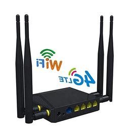 WiFi Routers for Wireless Internet Smart 4G LTE OpenWRT 300M