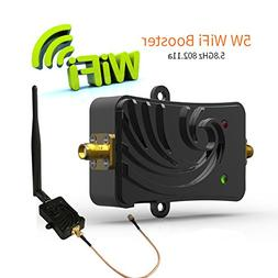 Wifi Signal Booster 5.8Ghz 5W Signal Extender Wifi Repeater