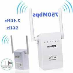 750M Wireless-AC Mini Router Dual Band 2.4/5GHz Wifi Repeate