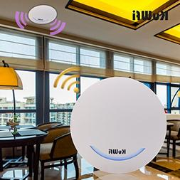 KuWFi 600Mbps Wireless Router Ceiling Mount Dual Band 802.11