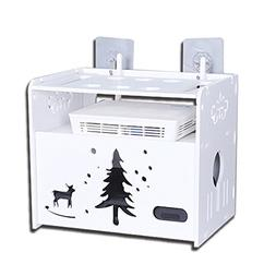 Wireless Router Storage Box - Light Cat WiFi Set-top Box Rac