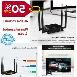 Wireless WiFi Router 3G 4G Modem Repeater With SIM Card Slot