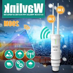 Wavlink WN570HN2 N300 Outdoor 2.4G Wifi Repeater Signal Exte