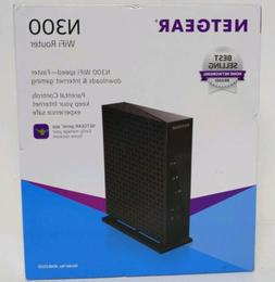 Netgear WNR2000 Wireless N300 WiFi Router 300 Mbps 4-Port 10
