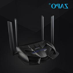 XBOSS Zopo Gaming LED WiFi Router AC 2600Mbps and Storge Rep